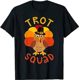 Trot Squad T-Shirt Turkey Pilgrim Costume Shirt