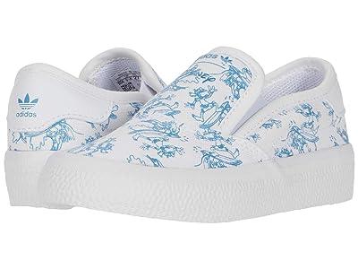 adidas Originals Kids 3MC Slip C x Disney Sport Goofy (Toddler) (Footwear White/Light Blue/Footwear White) Kids Shoes