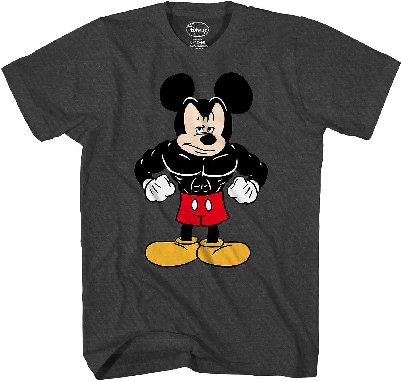 Tough Mickey Mouse Buff Workout Exercise Disneyland World Men/'s T-Shirt Tank Top