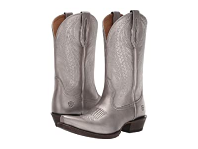 Ariat Tailgate (Silver Metallic) Cowboy Boots