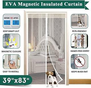 Insulated Magnetic Door Curtain, IKSTAR EVA Thermal Door Cover Fit Door Size Up to 36