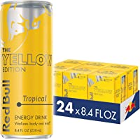 24-Pack Red Bull Tropical Yellow Edition Energy Drink