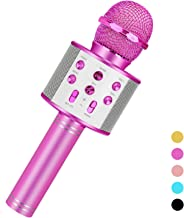 Toys For 3-16 Years Old Girls Gifts,Karaoke Microphone For Kids Age 4-12,Best Fun Birthday Gifts For 5 6 7 8 9 10 11 Years Teens Girl Boys