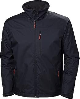 Helly Hansen Men's Crew Midlayer Fleece Lined Waterproof Windproof Breathable Rain Coat Jacket