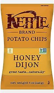 Kettle Brand Potato Chips, Honey Dijon, 5 Ounce