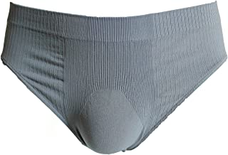 SENSI' Slip Uomo Intimo Microfibra Costina Traspirante Senza Cuciture Seamless Made in Italy