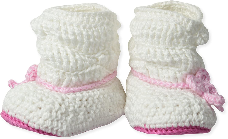 Jefferies Socks Baby-Girls Newborn Slouch Boot Crochet Bootie