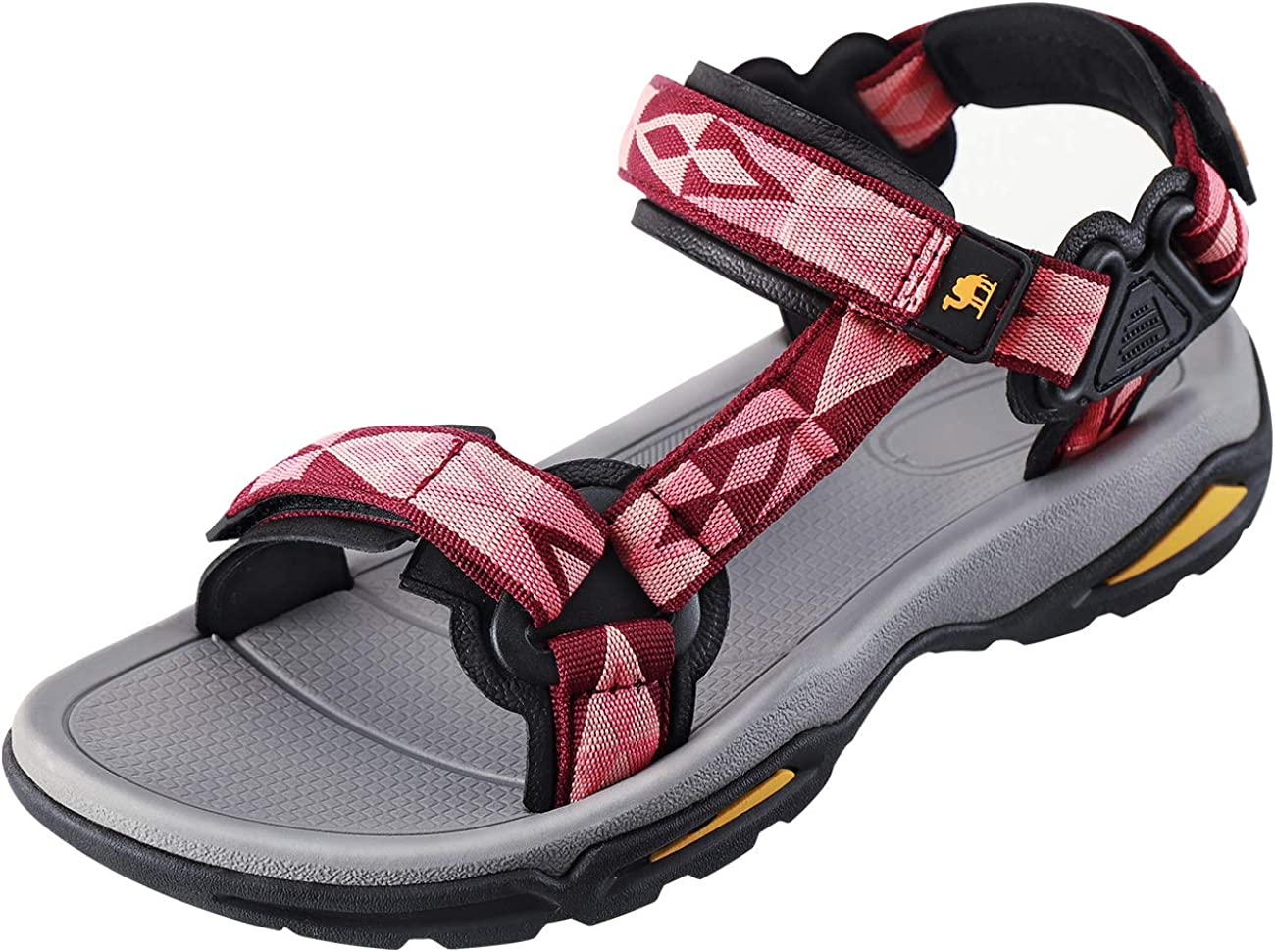 CAMEL CROWN Waterproof Hiking Sandals Women Arch Support Sport Sandals Comfortable Walking Water Sandals for Beach Travel Athletic