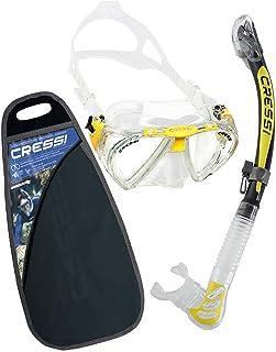 Cressi Pano3&Dry Kits Máscara Tubo, Unisex Adulto