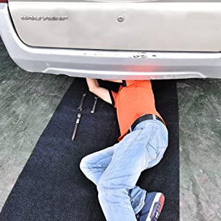 Delooant Maintenance Mat for Under Car or Equipment, Soft and Comfortable,Absorbent,Waterproof,Reusable,Washable,Protect Floor Clean(Maintenance Mat:36inches x 72inches)