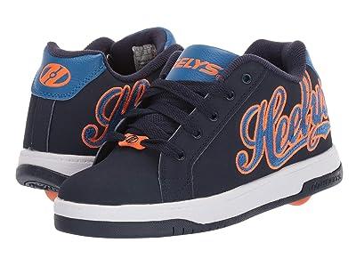 Heelys Split (Little Kid/Big Kid/Adult) (Navy/Royal/Orange) Boys Shoes