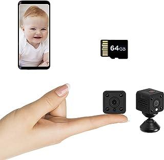 Insygrow Mini Kamera Wlan HD WiFi mit 64 GB Karte im Lieferumfang Mini..