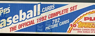 Topps 1992 Baseball Complete Factory Set 792 Cards Includes 10 Random Gold Cards