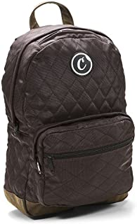 0c2cec86ea2a Cookies SF Berner Men s V2 1680 Quilted Nylon Smell Proof Backpack Bag W  Pouch Brown
