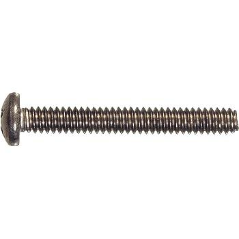 AISI 304 Stainless Steel 250 pcs 18-8 Machine Screws Flat Phillips Drive #4-40 X 7//16