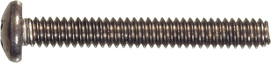 The Hillman Group The Hillman Group 3737 3-48 x 3/4 in. Stainless Steel Pan Head Phillips Machine Screw (50-Pack)