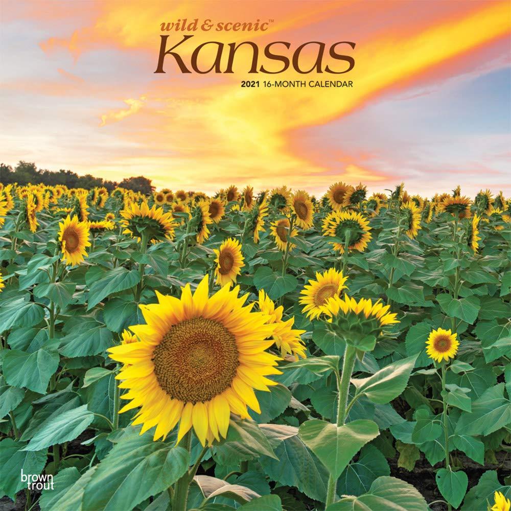 Free Download PDF Kansas Wild Scenic 2021 12 x 12 Inch ...