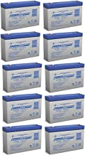 6V 7Ah G670 GP672 ES7-6 LC-R067R2P PS-670 Battery - 10 Pack