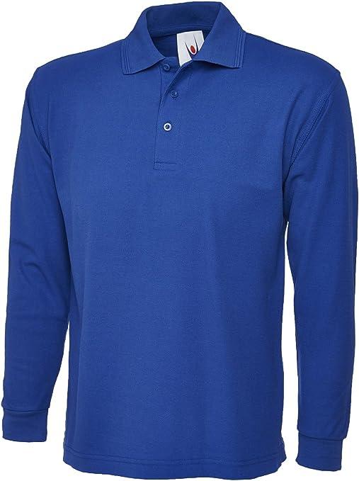 Uneek Clothing - Camiseta de polo de manga larga para ...
