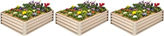 Metal Raised Garden Bed Kit - Elevated Planter Box For Growing Herbs, Vegetables, Flowers, and Succulents (3)