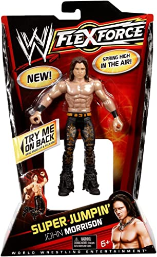 WWE - V1450 - Figurine - Flexforce - Super Leap John Morrison