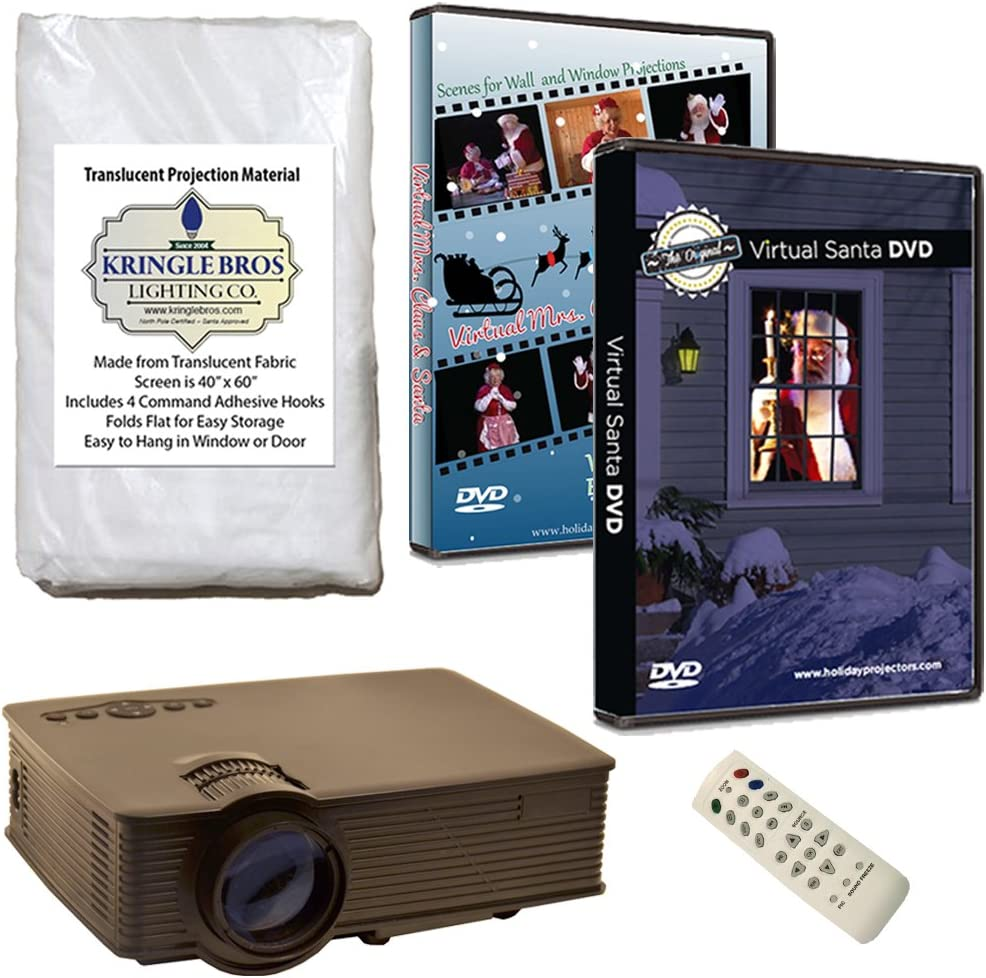 Kringle Bros Christmas Window Decoration includes lumen Attention brand 1900 Quality inspection Kit