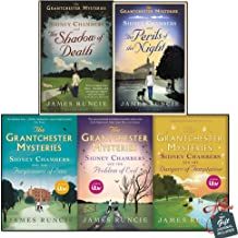 Grantchester Mysteries Sidney Chambers Collection 5 Books Set With Gift Journal (The Problem of Evil, The Perils of the Night, The Forgiveness of Sins, The Shadow of Death, The Dangers of Temptation)