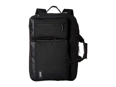 Solo New York Duane Hybrid Briefcase (Black) Briefcase Bags