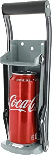Vanitek 16 oz Aluminum Can Crusher & Bottle Opener | Heavy Duty Large Metal Wall Mounted Soda Beer Smasher – Eco-Friendly Recycling Tool