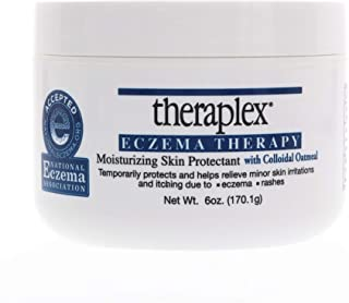 Theraplex Eczema Therapy - Moisturizing Skin Protectant with Natural Colloidal Oatmeal, Temporarily Relieves Itching Due t...