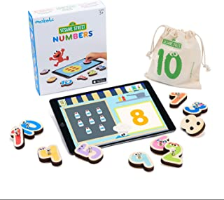 Marbotic - Sesame Street Numbers for iPad - Ages 3-5 - Interactive Wooden Numbers Set - Hands-on Educational Learning Game...