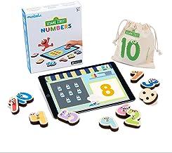 Marbotic - Sesame Street Numbers pour iPad - De 3 à 5 Ans - Set de Nombres Interactifs en Bois - Jeux Éducatifs Manuels po...