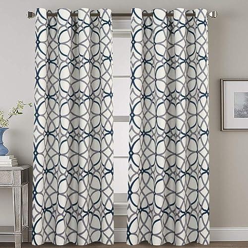 Geometric Pattern Curtains Amazon