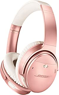 Bose QuietComfort 35(Series II) Wireless Bluetooth Headphones, Noise Cancelling (Limited Edition), Rose Gold