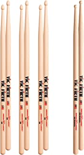 $25 » Vic Firth 3-Pair 5B Sticks with Free Pair 5B Barrel Wood Tip