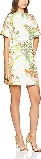 Oxford Women Bradley Palm Print Dress