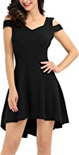 InsNova Women's Cold Shoulder High Low Cocktail Dresses for Party Wedding Guest…