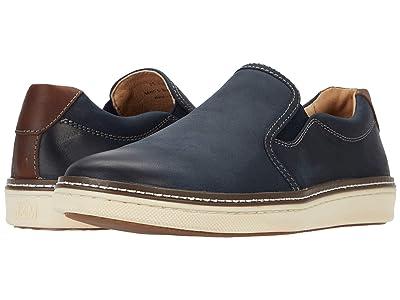 Johnston & Murphy McGuffey Casual Slip-on Sneaker (Navy) Men