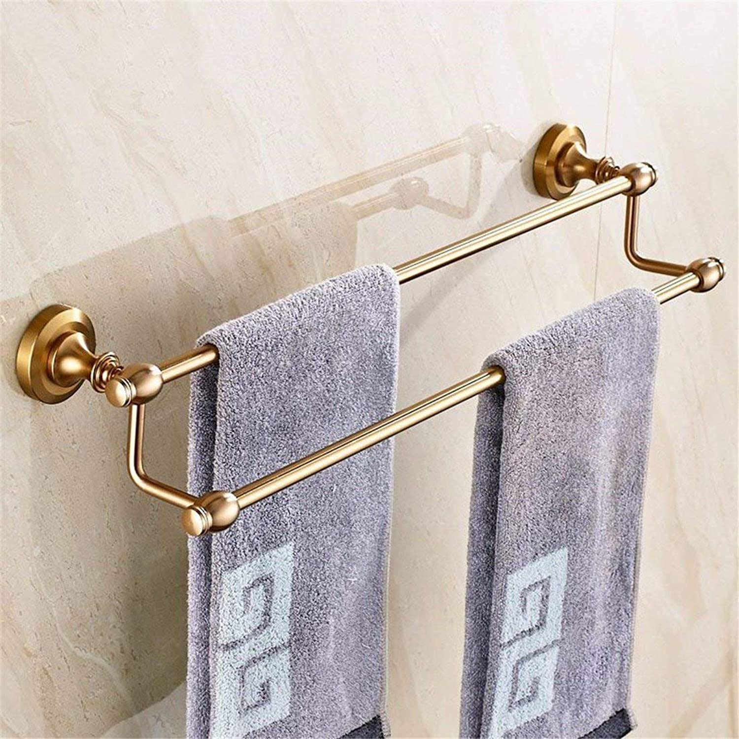 Of Copper Sheet of European Style Former, Bathroom Accessories Antiques, Toilet Paper, Dry-Towels, Single and Double Pole,Double Pole