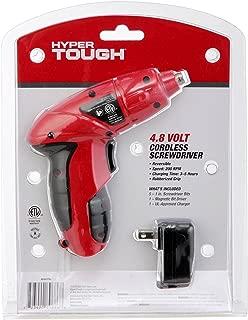 Hyper Tough 4.8 Volt Cordless Screwdriver