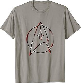 Star Trek: The Original Series Starfleet Sketch Red & Black T-Shirt