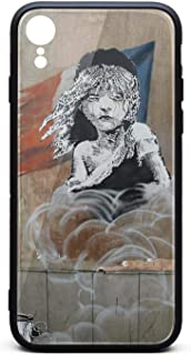IiangY Cute Les Miserables French Flag Banksy Street Art Graffiti French Flag Thin Soft iPhonerx Case for iPhonexr Protective for Girls Men Women Cover for Women Girls Men