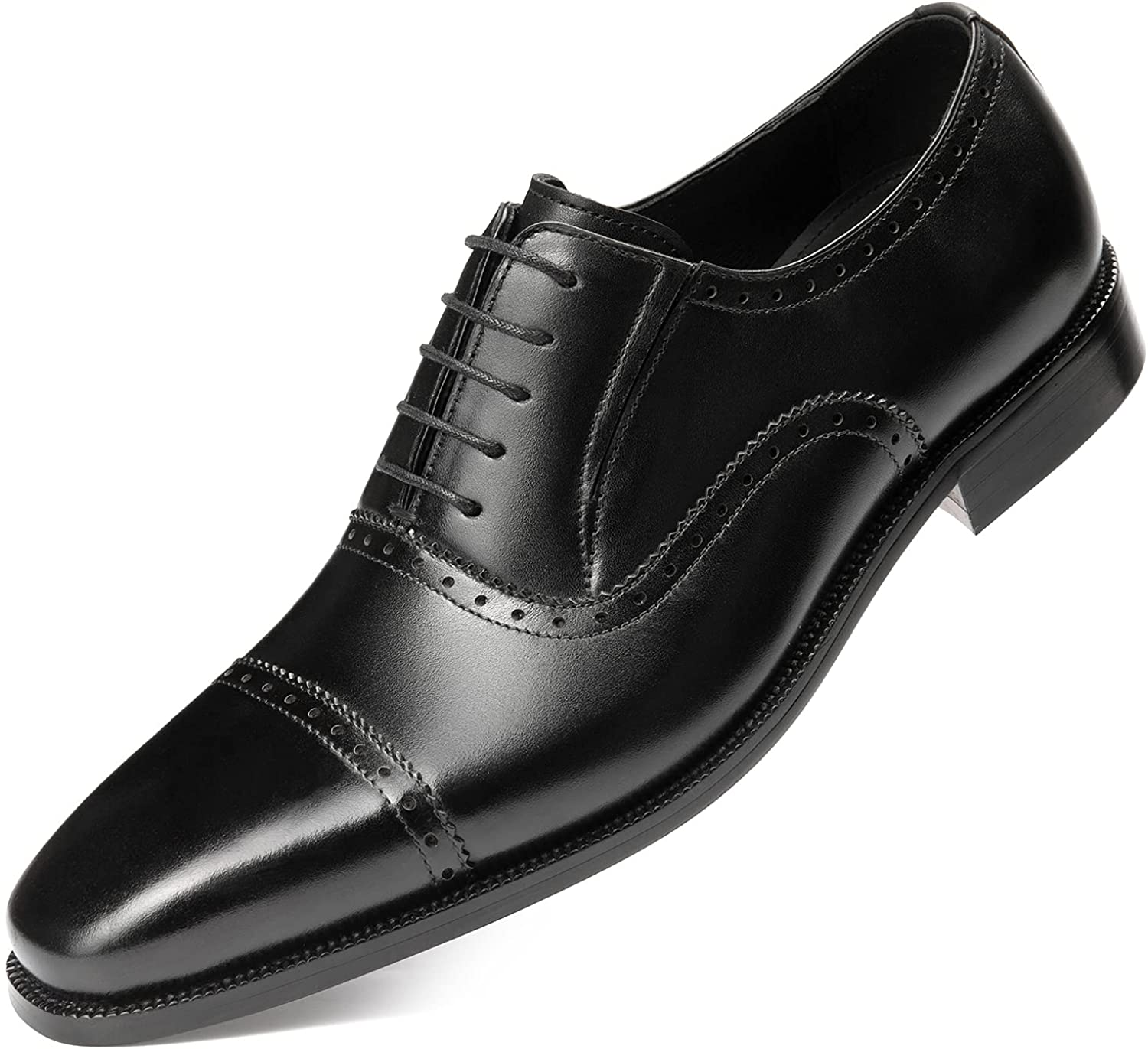 Hallow unbind Men's Handmade Attention brand Quarter Dress Don't miss the campaign Brogue Gra Shoes Full