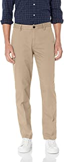 Amazon Essentials Men's Straight-fit Wrinkle-Resistant Flat-Front Chino Pant