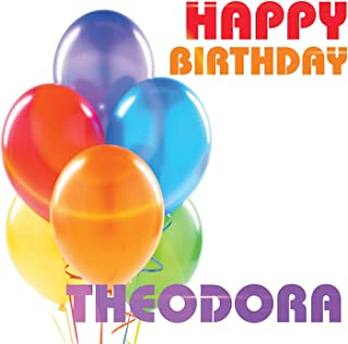 Best happy birthday theodora Reviews