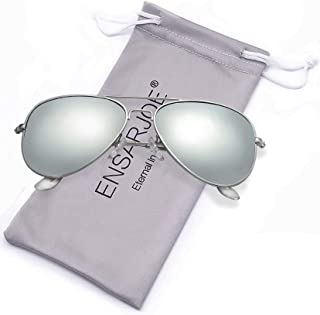 ENSARJOE Polarized Aviator Sunglasses for Men and Women...