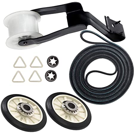 AP2946843 WP691366 691366-341241 Dryer Belt /& Idler Pulley Set AP6010582