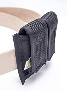 OutBags USA FS-2MP380 Double Magazine Pouch for Pocket Sized 380 Mags. Single Stacked Only. Family Owned & Operated. Made in USA