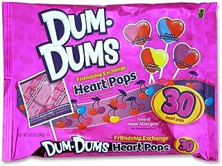 Dum Dums Heart Pops 30ct