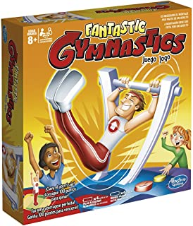 Hasbro Gaming- Gaming Novedad Juego Fantastic Gymnastics (C0376175)